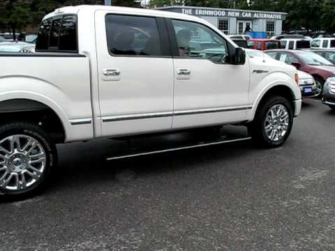 My New F150 Platinum Automatic Hide A Way Running Boards