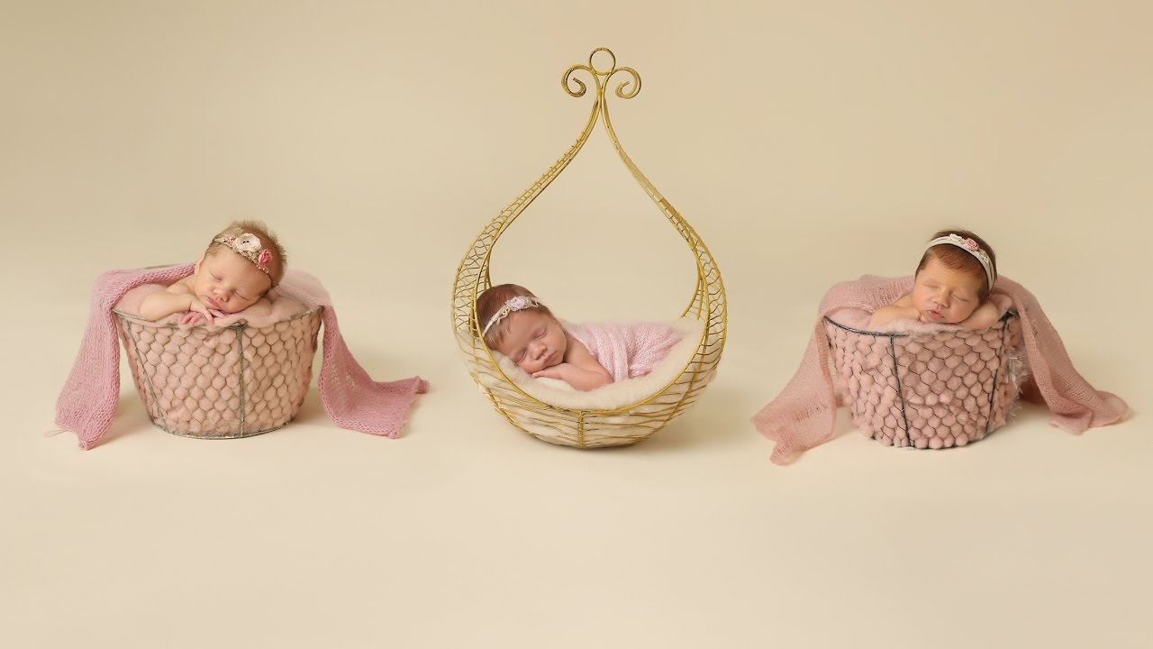 c0f1267e5 Triplet Newborn Girls with their siblings photographed by Ana Brandt ...