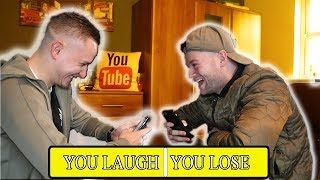 YOU LAUGH YOU LOSE CHALLENGE !