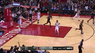 3rd Quarter, One Box Video: Houston Rockets vs. San Antonio Spurs