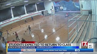 Students expected to return to Sampson County school Thursday after storm damage