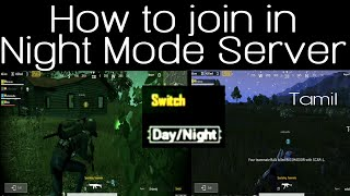 PUBG Night Mode Fast and Easier TRICKS and TIPS in Tamil