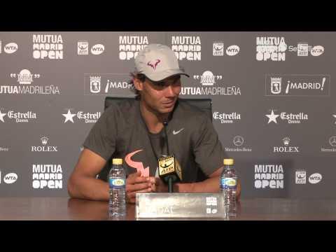 Rueda de prensa Nadal / Nadal's press conference