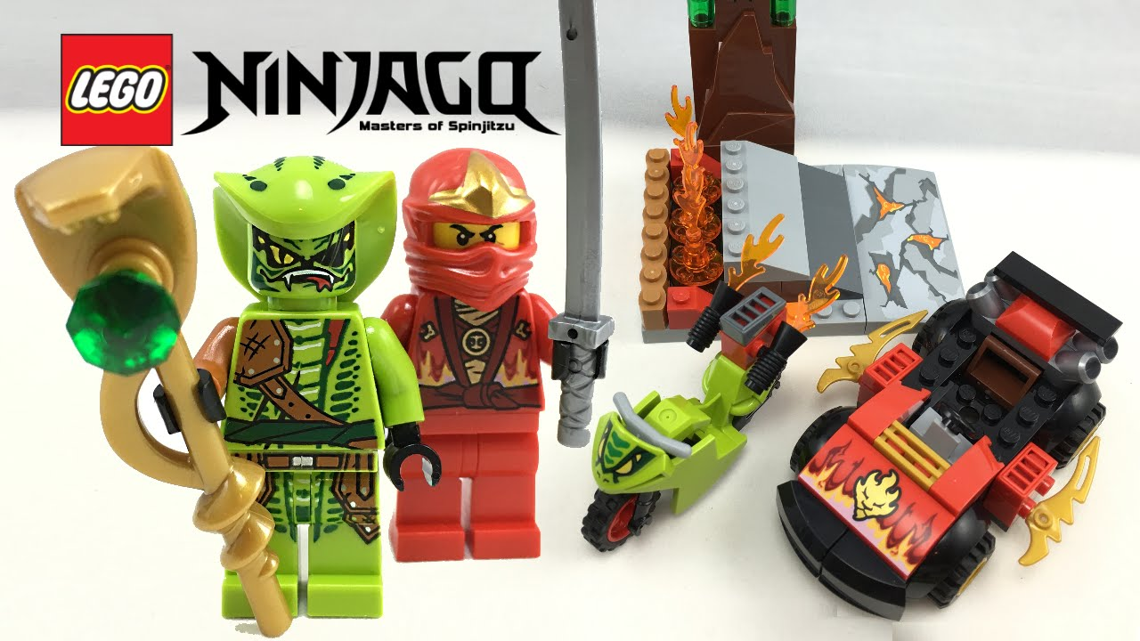 Lego ninjago snake showdown 2016 set review 10722 youtube - Serpent lego ninjago ...
