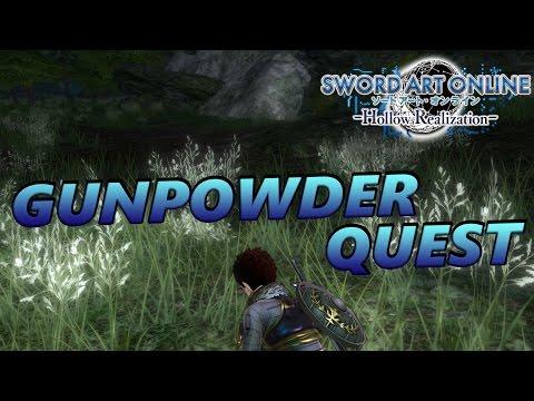 Sword Art Online: Hollow Realization - Gunpowder Quest Full Walkthrough