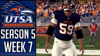 NCAA Football 13 Dynasty (UTSA) - Week 7 vs Southern Miss (Season 5)