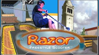 Xin Quick Plays: Razor Freestyle Scooter (PS1): Part 1