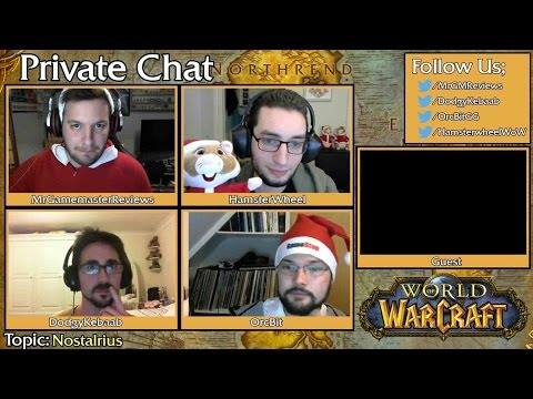 Private Chat #7 Christmas Special Highlights -  Nostalrius