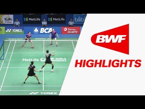 BCA Indonesia Open 2017 | Badminton SF – Highlights