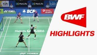 BCA Indonesia Open 2017 | Badminton SF – Highlights thumbnail