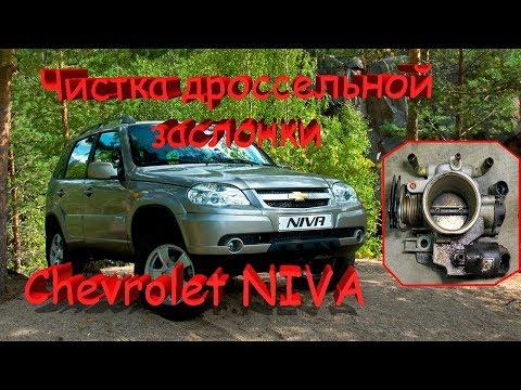 Чистка дроссельной заслонки Шевроле Нива, ВАЗ 2107 инжектор