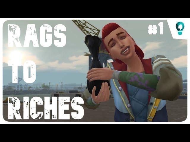 The Sims 4: Rags to Riches | ECO Lifestyle | Ami az egyiknek szemét, a másiknak kincs #1