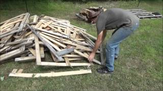 Processing Pallet Wood For My Tiny House Paneling