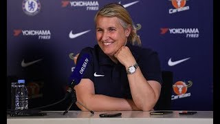 Chelsea's Emma Hayes says preparing her team for Lyon is 'easy part'
