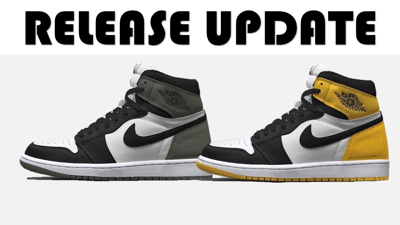 953a3838192b66 AIR JORDAN RETRO 1 CLAY GREEN AND YELLOW OCHRE UPDATE
