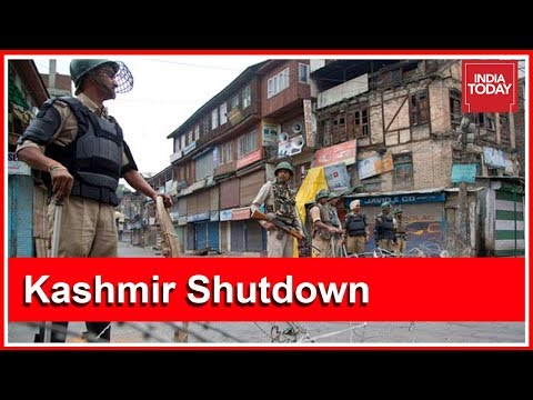 Complete Shutdown In Kashmir Valley Ahead Of SC Hearing On Article 35A | Ground Report
