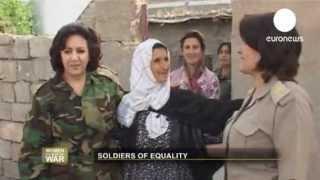 ناهیده، اولین فرمانده پیشمرگه زن در کردستان عراق