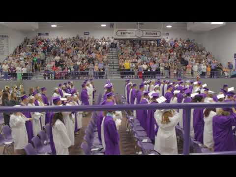 Triway High School Graduation Cap Toss May 28, 2017