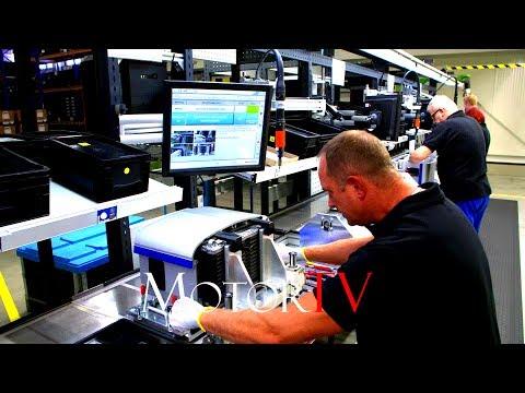 CAR FACTORY : MERCEDES-BENZ BATTERY PRODUCTION l Kamenz Plant