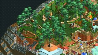 Rocky Rambles: A RollerCoasterTycoon 2 (Time Twister) park.