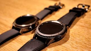 New Samsung Gear Sport Smart Watch - Unboxing and Gear S3 comparison
