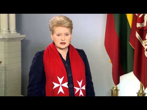 Greetings from the President of Lithuania H.E. Dalia Grybauskaite