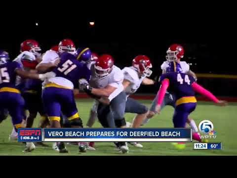 Vero Beach Prepares For Deerfield Beach 11/20