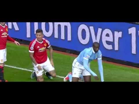 Marcos Rojo vs Man City HD 720p