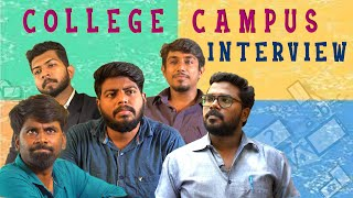 College Campus Interview | Prachanaigal | College Life | Veyilon Entertainment