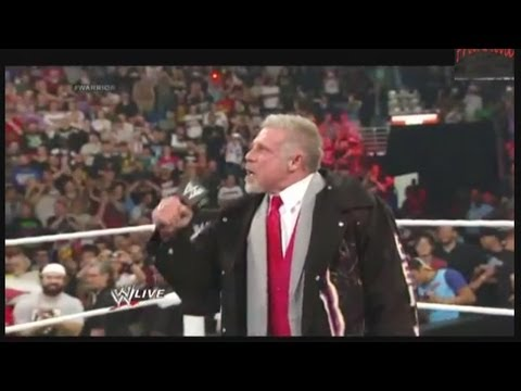 WWE star The Ultimate Warrior dies