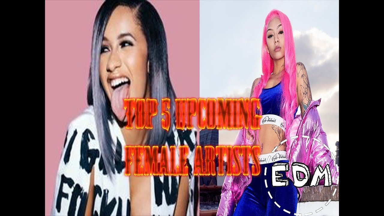 TOP 5 UPCOMING FEMALE RAPPERS