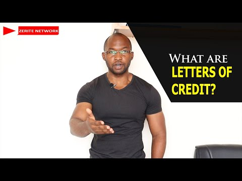 What are LETTERS OF CREDIT?
