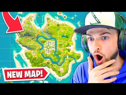 *NEW* MAP ADDED To Fortnite! (Update Patch Notes + ALL CHANGES)