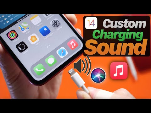 How to change the Charging Sound on iPhone in iOS 14 - iOS 14 Customization