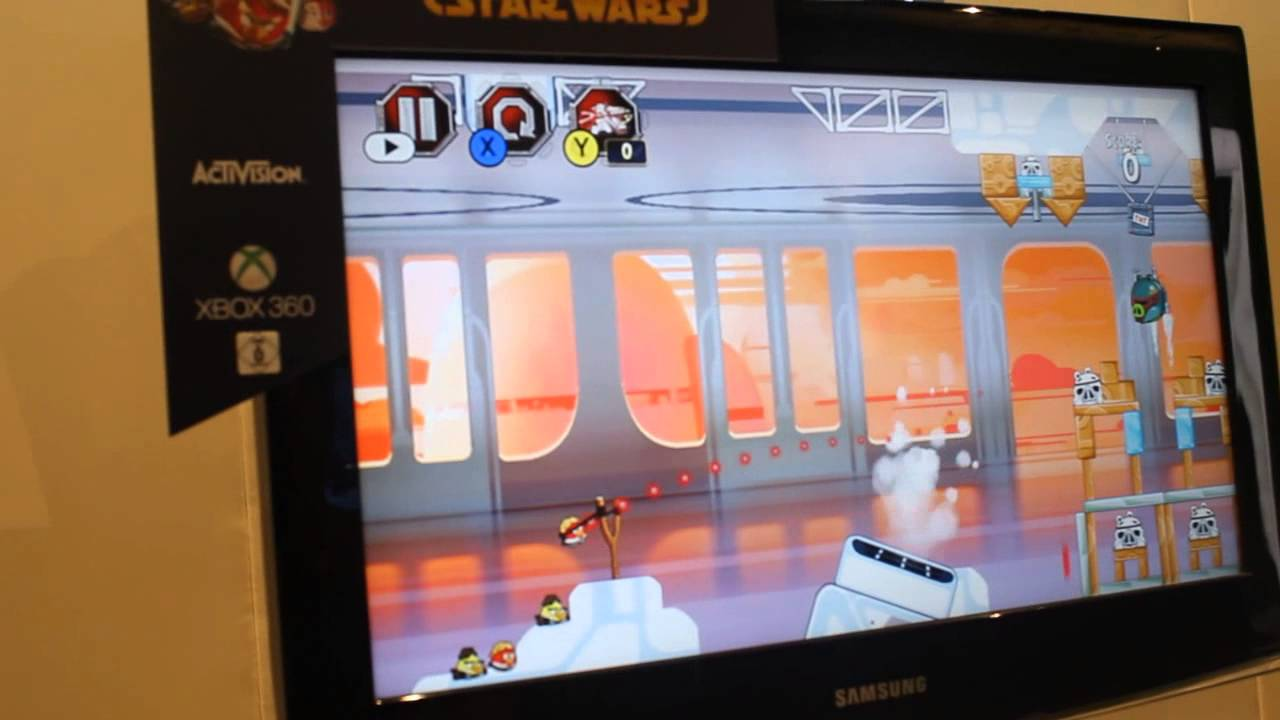 Angry Birds Star Wars Xbox 360 Gameplay HD