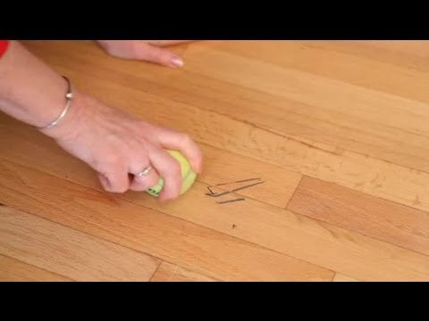 Tennis Ball Tips for Wiping Away Scuff Marks : Clean in :30 - Tennis Ball Tips For Wiping Away Scuff Marks : Clean In :30 - YouTube