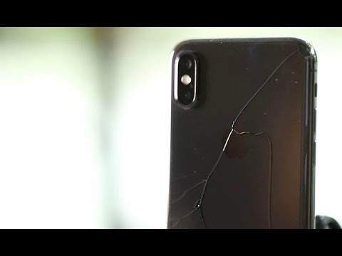 iPhone X drop test