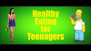 Let katy perry teach you about healthy eating in this quick video that outlines the key nutrients required for a teenager.