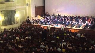 Дарт Вейдер в Московской Консерватории / Darth Vader in Moscow Conservatory / Mapping Show