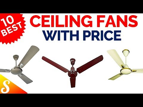 10 Best Ceiling Fans In India With Price 2018 Youtube