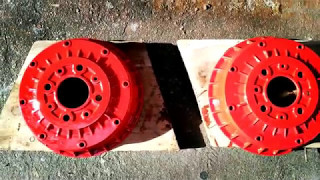 видео Задние тормозные барабаны