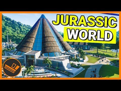INNOVATION CENTER - Jurassic World Evolution Part 3