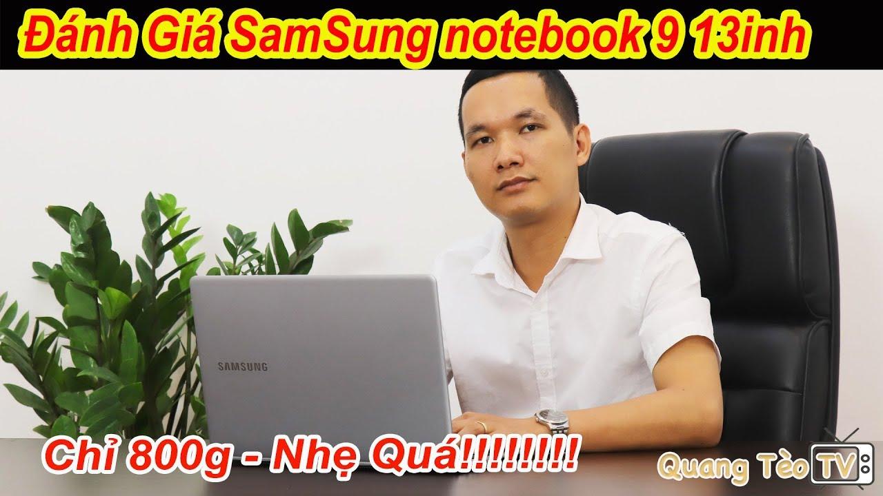 Samsung Notebook 9 13.3 inch | Laptop Siêu Mỏng và Siêu Nhẹ
