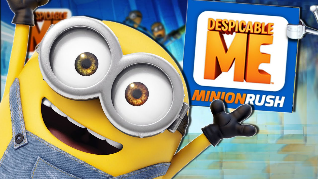 Minion Camera App : He farted on me!! minion rush youtube