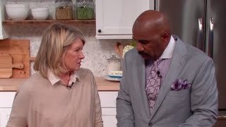 Martha Stewart: You just do what you want on my show! || STEVE HARVEY