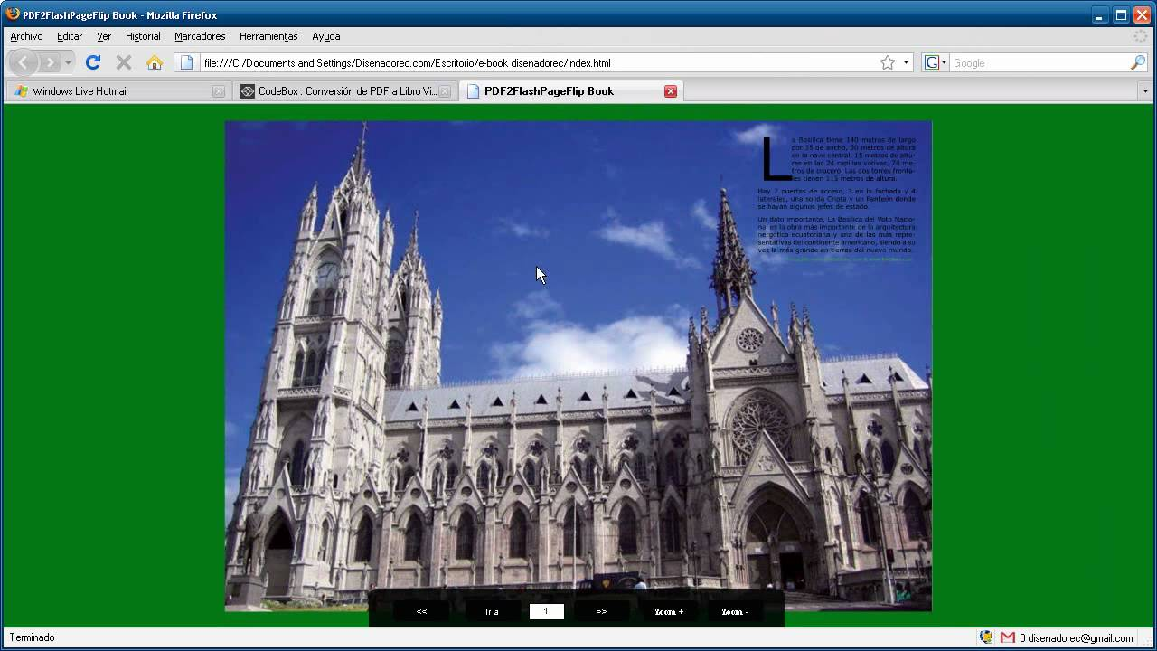 E Book Revista Libro Virtual 3d Efecto Flash Desde Pdf Mac Pc Por Disenadorec Com Youtube
