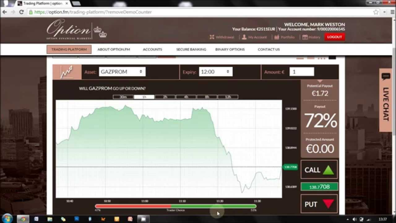 Binary option fm