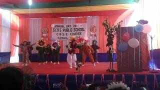 Dance Drama programme  on nature by KG students