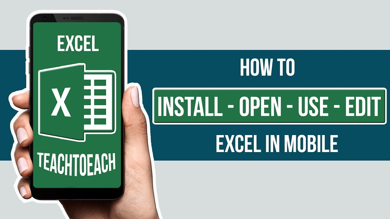 how to use excel in android mobile phone in hindi youtube rh youtube com Exal Corporation Jobs Exal Kressh