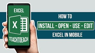 How to Use Excel in Android Mobile Phone in Hindi